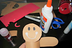 Christmas Arts And Crafts For Kids Gingerbread Man Toilet Paper Roll Craft For Kids Cute Christmas