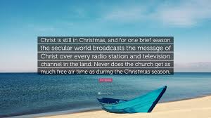 "Christmas Vacation Quotes Impressive RC Sproul Quote ""Christ Is Still In Christmas And For One Brief"