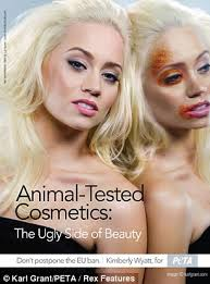 s used in cosmetic testing have substances poked into their eyes forced down their throat