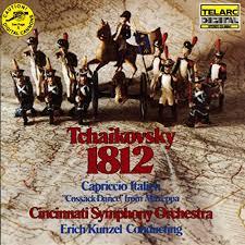Charts Italien Tchaikovsky 1812 Overture Capriccio Italien Cossack