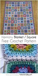 Square Crochet Pattern Interesting Decorating Design