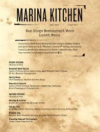 Abc Kitchen Restaurant Week Make Your Reservation For San Diego Restaurant Week At Marina
