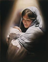 Image result for Mary and the bABY jESUS