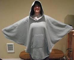 Fleece Poncho Pattern With Hood Fascinating Fleece Poncho Wardrobe Mag