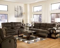 Buy Kiska Chocolate Reclining Sofa by Ashley from