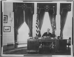 oval office picture. Franklin D. Roosevelt In The Oval Office Picture