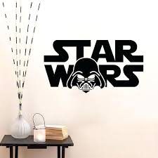 star wars wall decal star artwork star wars wall decal removable wall sticker home decor star wars wall decal