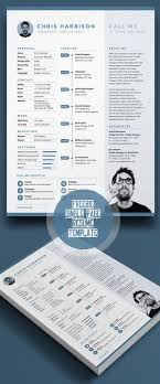 Infographic 20 Free Cv Resume Templates Psd Mockups