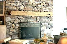 stacked stone fireplace cost stacked stone veneer fireplace cost