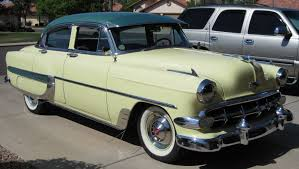 1954 Chevrolet Bel Air 4 door sedan - Members Gallery - Main ...