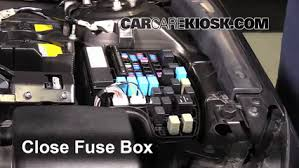 replace a fuse 2014 2016 mazda 3 2014 mazda 3 touring 2 0l 4 6 replace cover secure the cover and test component