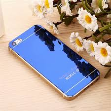 luxury front back mirror tempered glass protector for iphone 5 iphone 5s