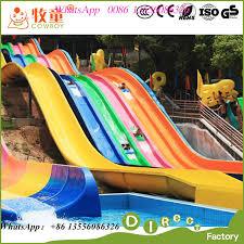 china china supplies water play equipment fiberglass rainbow water slides for supplier