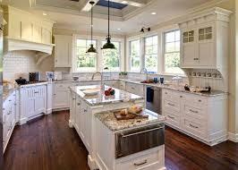 kitchen cabinets with granite countertops: pictures of white kitchen cabinets with black granite countertops