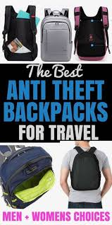 2020 Guide To The Best Anti Theft Backpacks For Travel