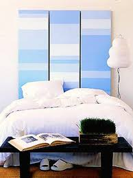 Bedroom: Romantic Blue Headboard Ideas - Headboard Bed