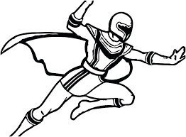 Printable Power Rangers Coloring Pages Free Power Ranger Coloring