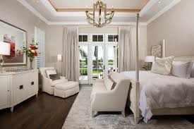 subdued lighting. Home Design: Subdued Lighting In The Master Bedroom Facilitates Rest And Relaxation.