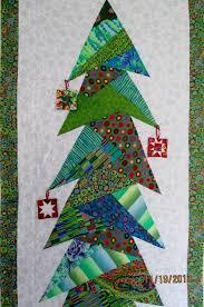 Kaffe Fassett Christmas tree wall hanging by Shelley at Waterwheel ... & Kaffe Fassett Christmas tree wall hanging by Shelley at Waterwheel House  Quilt Shop: paper pieced