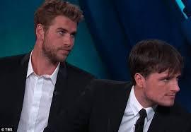Liam Hemsworths On Screen Kiss With Josh Hutcherson In The