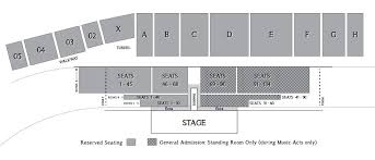 Seating Chart Concerts In Frederick Md The Great