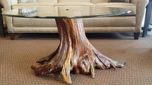 tree stump coffee table with glass top tree stump coffee table base glass coffee tables coffee table books