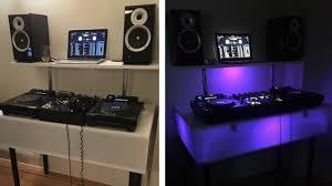 Dj Desk Light Diy How To Build A Light Up Dj Booth Dj Booth Trending