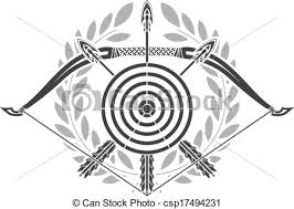 Image result for archery drawing