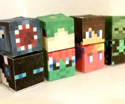 Minecraft Pictures To Print Pixel Papercraft
