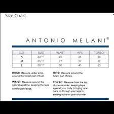 Antonio Melani Marble Banded Swim Skirt Sm Lg Nwt