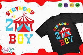 (if your cutting software supports a print. Circus Birthday Boy Svg Cut File 121855 Cut Files Design Bundles