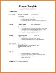 Resume Template For Students First Job Basic Resume Template For