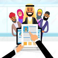Arab Curriculum Vitae Recruitment Candidate Job Position Hands