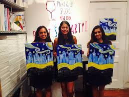 paint and sip nyc activities fun summer
