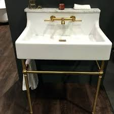 sinks metal console sink stands cheviot lavatory metal console sink stands the oak hill