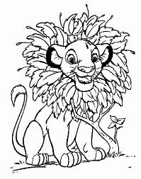 Disney Coloring Pages Lion King Free