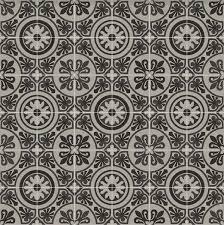 patterned cushion sheet vinyl flooring moroccan design tangier 04 greys and blacks