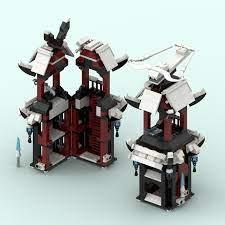 Watch tower/Castle of Ice from Ninjago, season 11 : lego