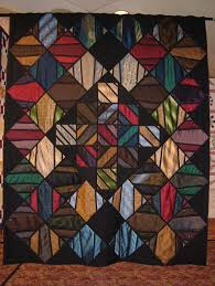 Lots of unique quilt ideas. Love this one made out of ties ... & Lots of unique quilt ideas. Love this one made out of ties. Adamdwight.com