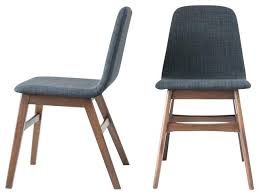 midcentury modern dining chairs. linden mid century modern dining chairs set of 2 midcentury .