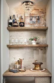 rustic bar shelves rustic white brick bar rustic wet bar shelves