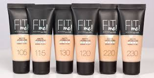 Maybelline Fit Me Foundation Color Chart Our Fit Me Maybelline Foundation Review Does Maybelline