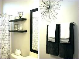 Bathroom Plain Bathroom Accessories Black And White Throughout Gold