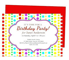 Make Birthday Party Invitations 15 How To Make Party Invitations Proposal Review