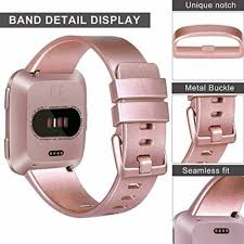 Fitbit Versa <b>Silicone Replacement Band</b> Sport Fitness Wristband ...