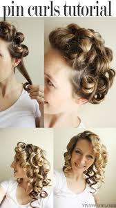 Hair Style Curling best 25 pin curls ideas vintage curls vintage 5240 by wearticles.com