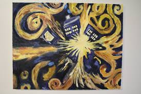 doctor who van gogh s exploding tardis