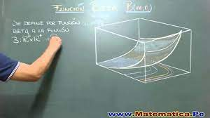 FUNCION BETA-DEFINICION BASICA - YouTube