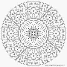 Floral Mandala Detailed Coloring Pages For Adults Bing Images