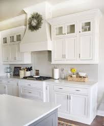 should incorporate glass cabinets